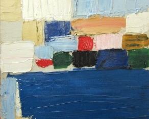 Composition-Paysage (Le Castelet), 1953