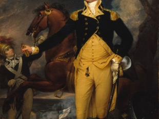 George Washington before the Battle of Trenton