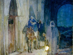 Flight Into Egypt, 1923
