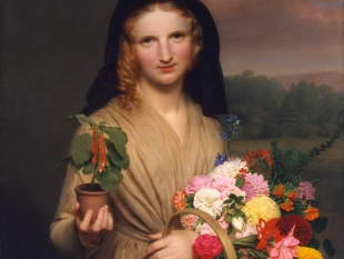 The Flower Girl, 1846
