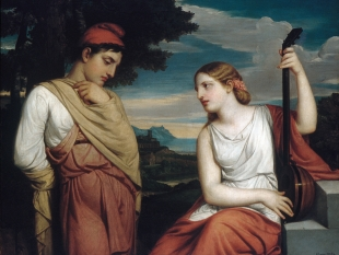 The Greek Lovers, 1846