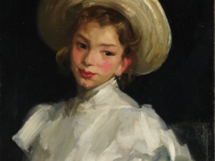 Dutch Girl in White, 1907
