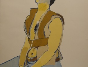 Untitled (Seated Youth), 1980