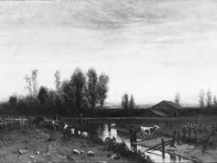 Sunset, ca. 1870–80