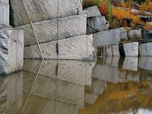 Rock of Ages #2, Granite Quarry, Bebee, Quebec, 1991