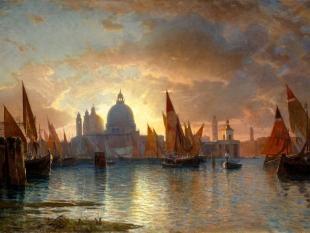 Santa Maria della Salute, Sunset, 1870–85