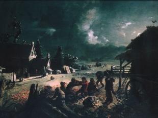 Corn Husking, ca. 1863–64