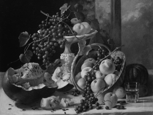 Still Life with Fruit, ca. 1857