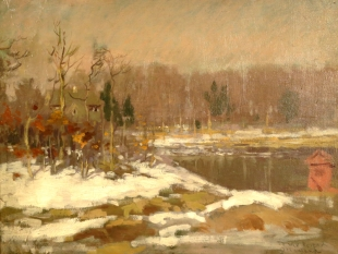 Winter Landscape, circa 1910