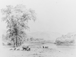 Susquehanna below Nanticoke, Pennsylvania, 1852