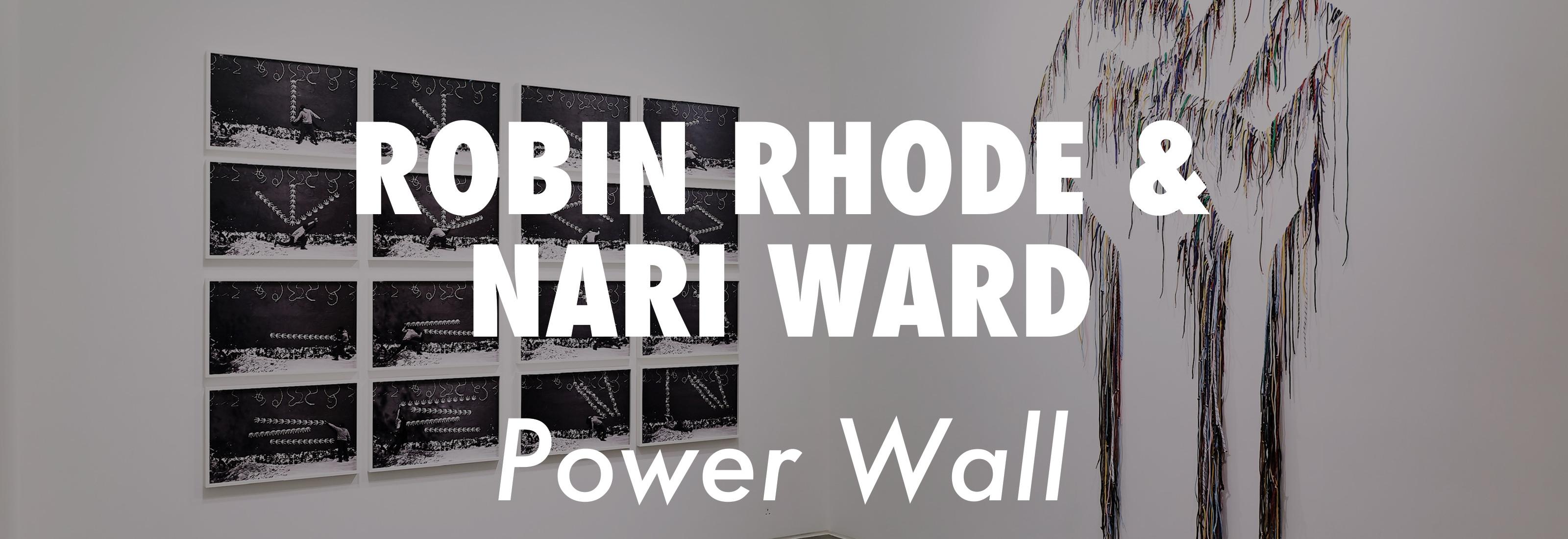 Robin Rhode & Nari Ward