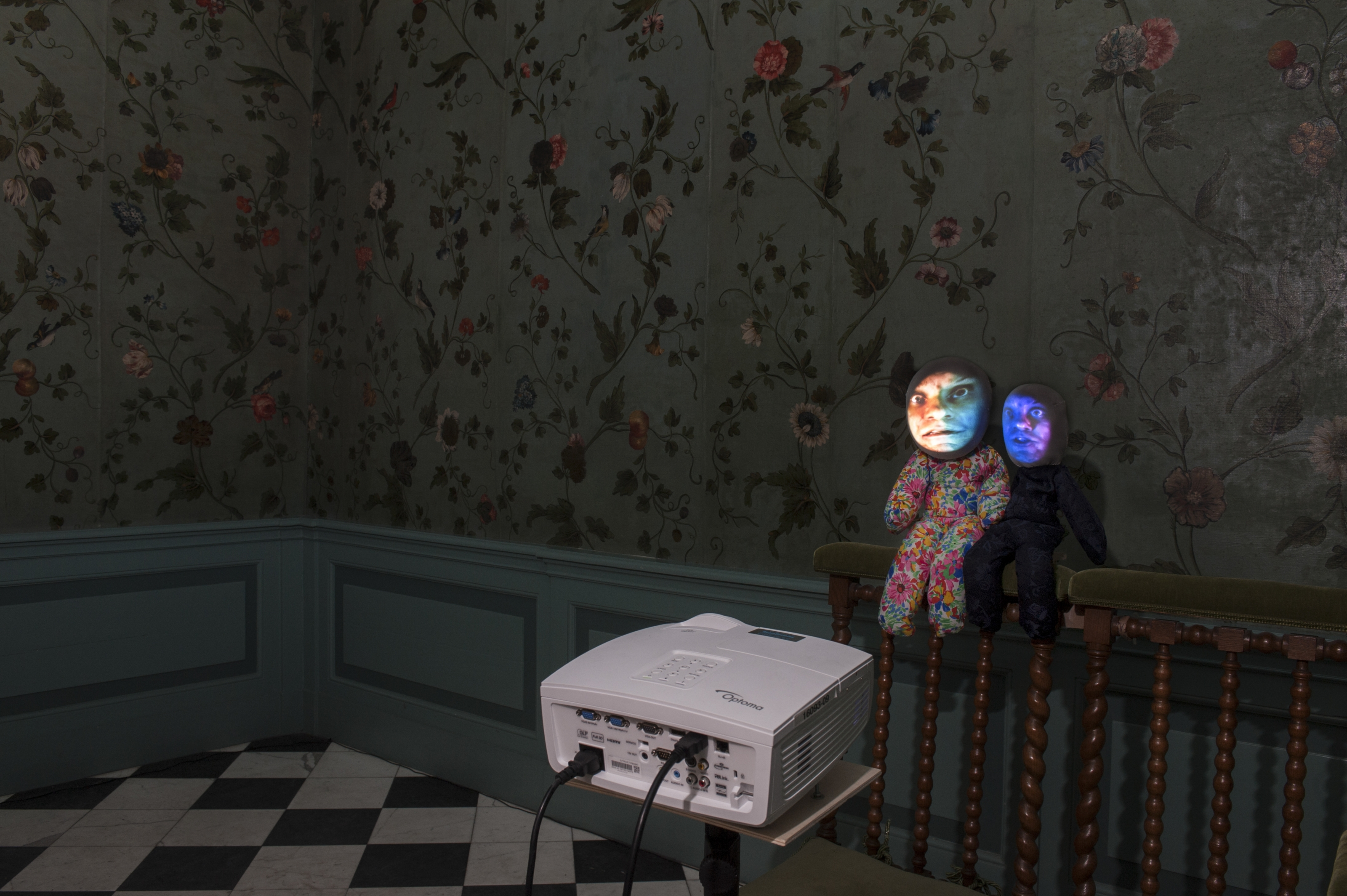 TONY OURSLER, double doll, 2014