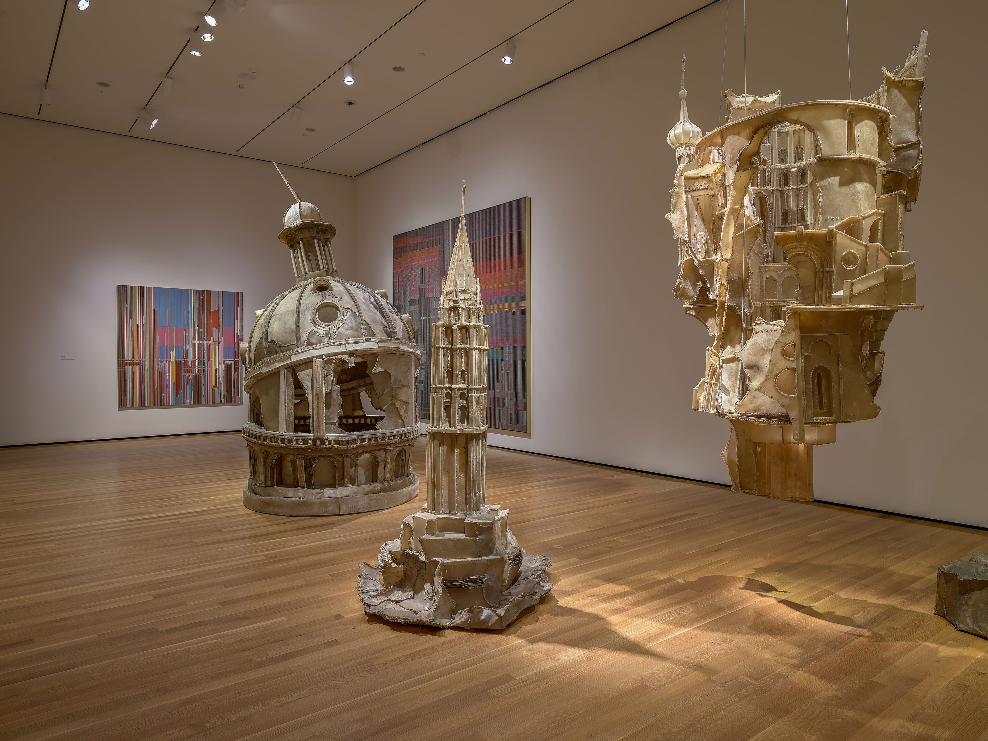 View 4 of Liu Wei's solo museum exhibition titled Invisible Cities at the Cleveland Museum of Art