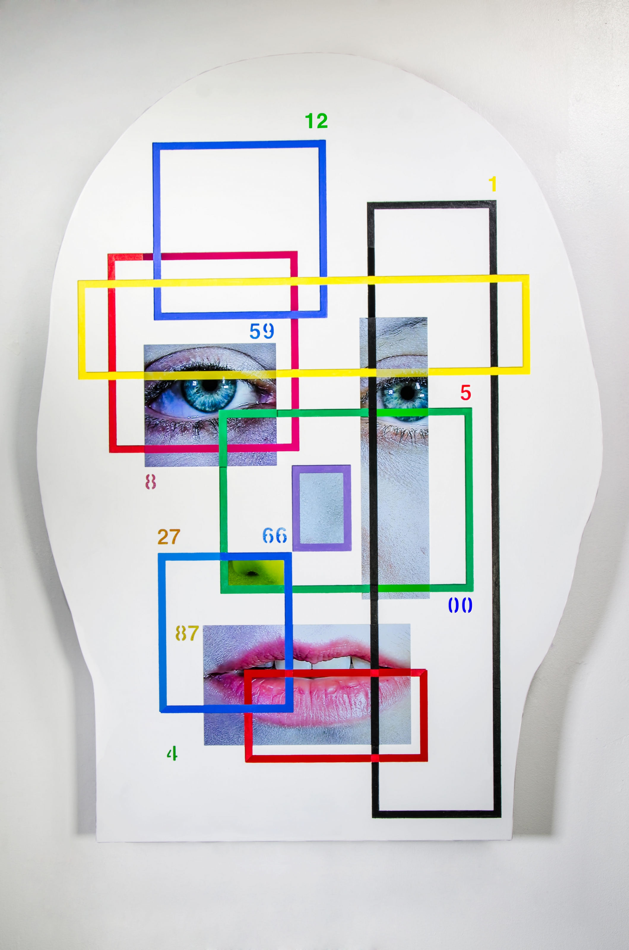 TONY OURSLER, [ s~iO. ], 2017