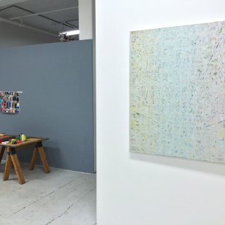MATTER & CONJECTURE KES ZAPKUS, STEFAN GRITSCH, curated by Marjorie Welish