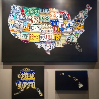 48 Plates plus Alaska and Hawaii