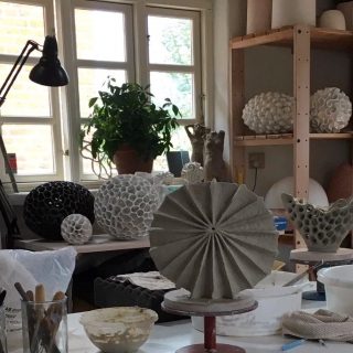 Inside the Artist Studio: BARBRO ÅBERG