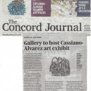 Renata Cassiano-Alvarez featured in Concord Journal