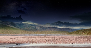 Lake Bogoria, Kenya, Day to Night, 2017