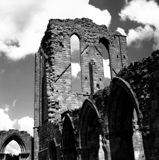 Norman Abbey - Darbyshire, England 2002