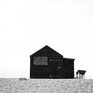 Fisherman's Hut, Dungeness Beach, East Sussex - England 2009