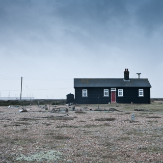 Red Door - Dungeness, East Sussex, England 2012