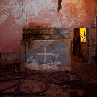 Private Chapel in ruins (3) - Umbria, Italy 2008