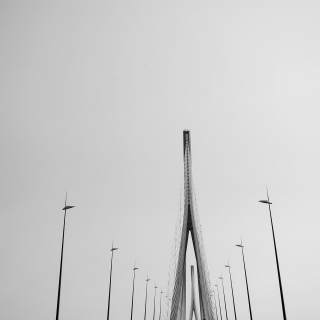 Pont de Normandie, Le Havre - France (4) 2011
