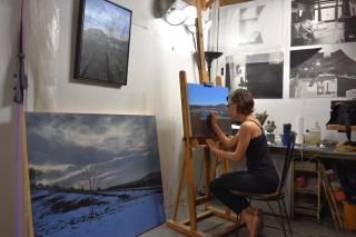 Eileen Murphy's Painting Process