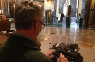The Typewriter and the Capitol Rotunda