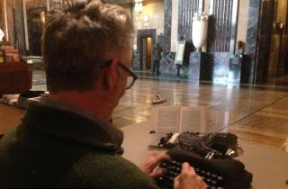 The Typewriter and the Capitol Rotunda