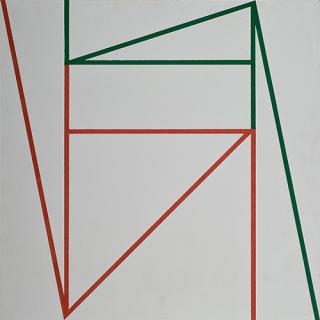 Geraldo de Barros painting