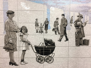 Artist Jean Shin Shines at the New 63rd Street 2nd Ave Subway Stop
