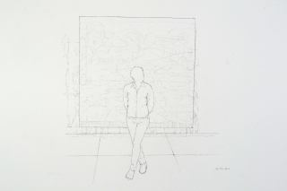 """Joe Fig: Drawings"" at EBK Gallery"