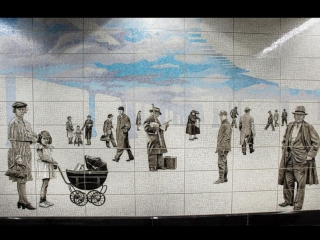 NYC subway art: Second Avenue-72nd Street, Court Square and more stations