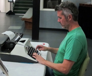 Artist Interview: Tim Youd Fetishizes the Typewriter