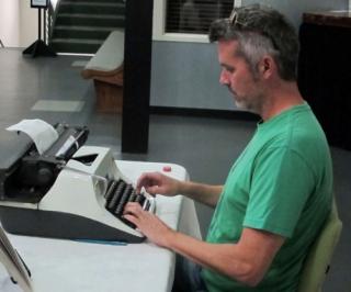 Artist Interview: Tim Youd Fetishizes the Typewriter