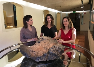 La artista estadounidense Janet Biggs recrea en el Museo de la Ciencia y el Cosmos la vida en Marte