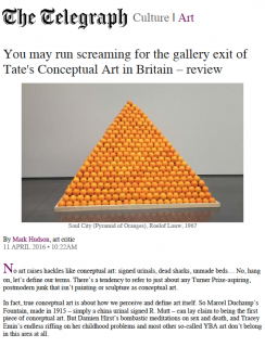 Review: Tate's Conceptual Art in Britain