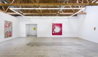 """Installation view of Andrew Brischler """"Storms"""""""