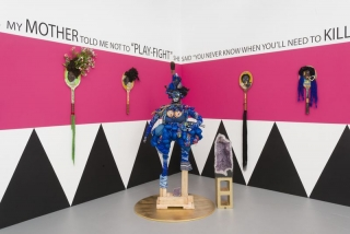 Black, female and strong: Vanessa German's sculptures voice their power without sound