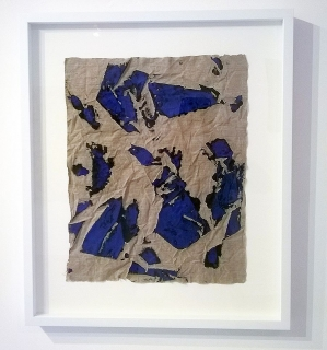 Elisabeth Kley, Blue on Black, 2014