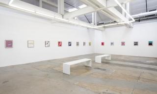 "Installation view of Andrew Brischler ""Punk & Faggotry"""