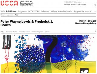 Peter Wayne Lewis & Frederick J. Brown UCCA