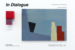 In Dialogue: DAVID GOERK & LIV METTE LARSEN  (two person show)