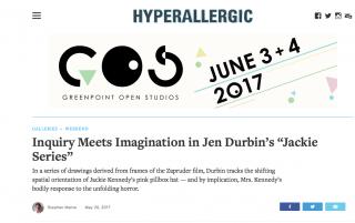 JEN DURBIN review in HYPERALLERGIC