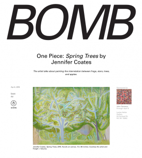 One Piece: Spring Trees by Jennifer Coates