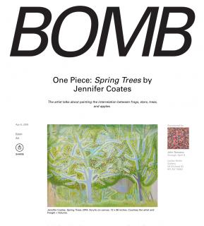 One Piece: Spring Trees by Jennifer Coates
