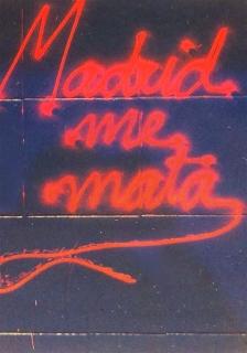 Wendy White   Madrid Me Mata
