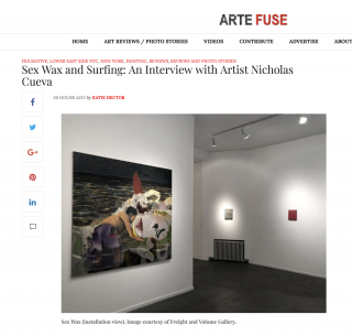 "Arte Fuse features ""Sex Wax"""